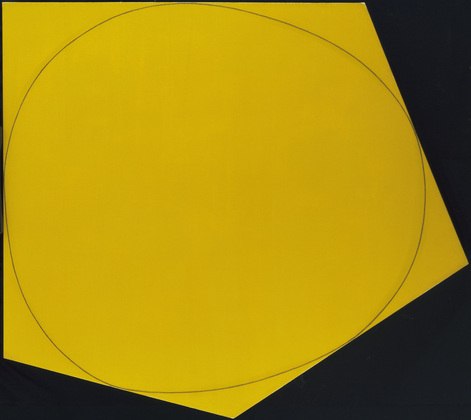 Distorted Circle within a Polygon I - Robert Mangold
