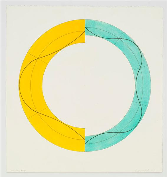 Split Ring Image, 2008 - Robert Mangold