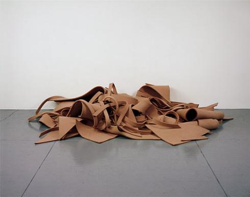 Untitled (Pink Felt), 1970 - Robert Morris