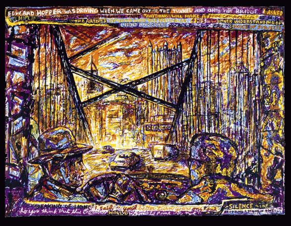 Edward Hopper Was Driving, 1997 - Robert Qualters