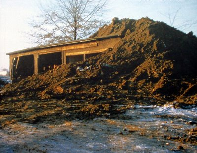 Partially Buried Woodshed - Robert Smithson
