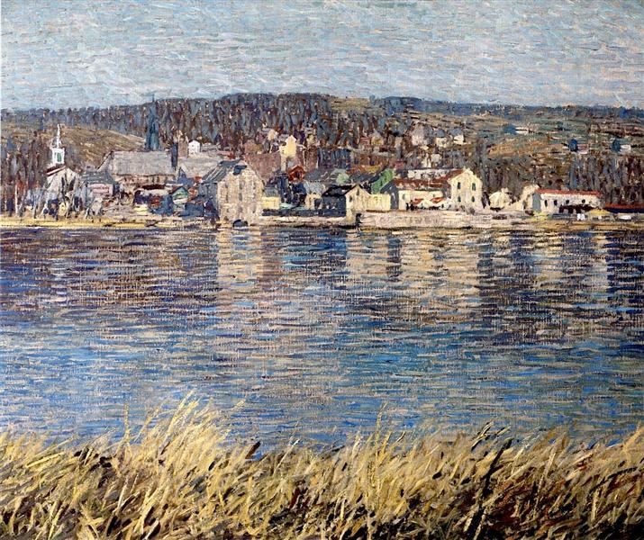 Across the River, 1920 - Роберт Спенсер
