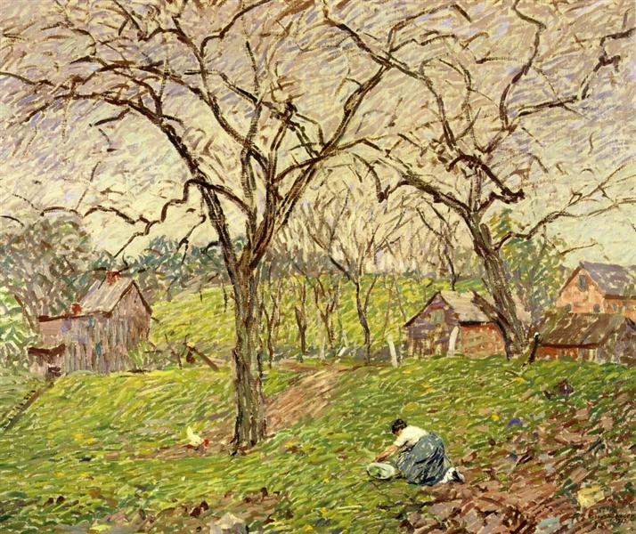 Gathering Greens, 1913 - Robert Spencer