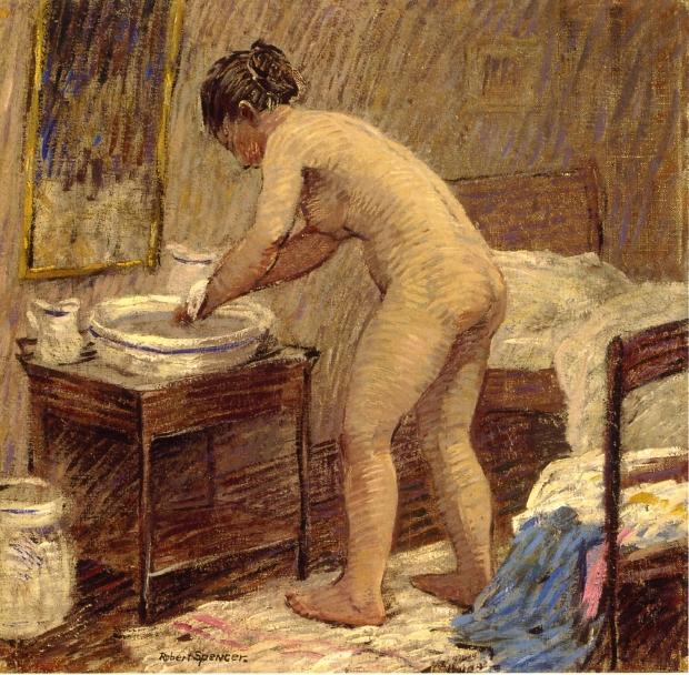 The Bath, 1918
