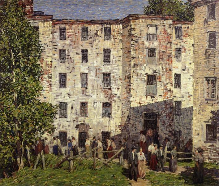 The Closing Hour, 1913 - Robert Spencer