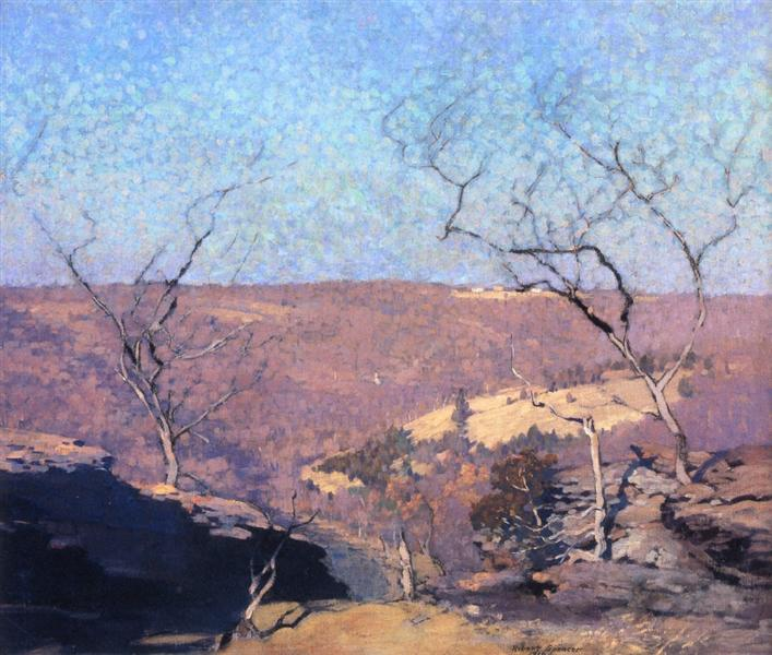 Tohicken Valley, Point Pleasant, Pennsylvania, 1910 - Robert Spencer