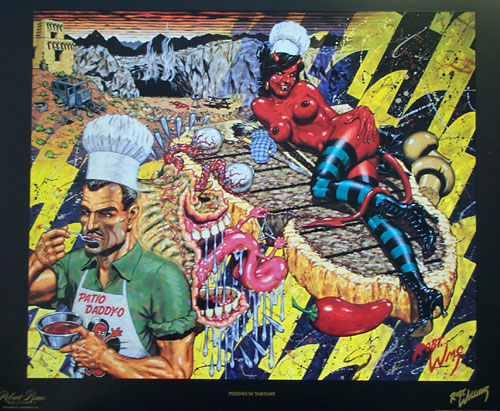 Perineum Tartare, 1993 - Robert Williams