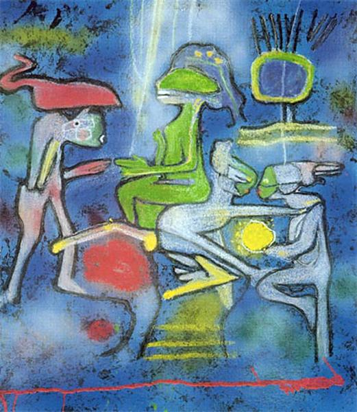 La Source de Calm, 2002 - Roberto Matta