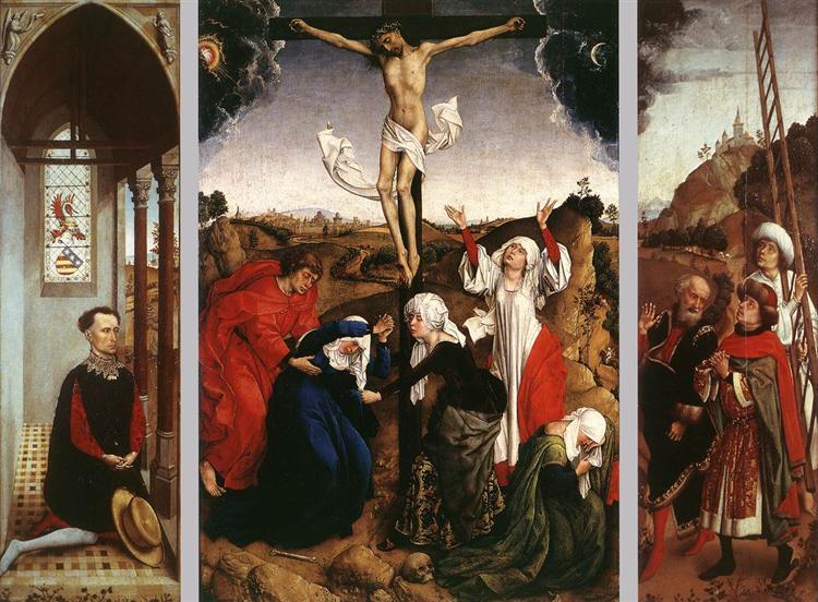Abegg Triptych, c.1445 - Rogier van der Weyden