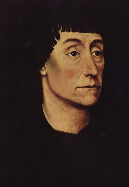 Portrait of Pierre de Beffremont, 1455 - 1460 - Rogier van der Weyden