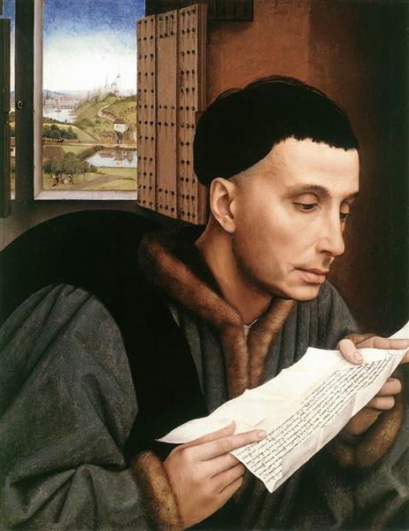 Saint Ivo - Rogier van der Weyden