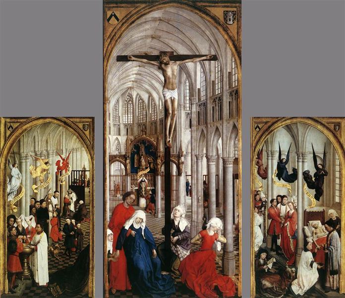 Seven Sacraments Altarpiece, 1445 - 1450 - Rogier van der Weyden