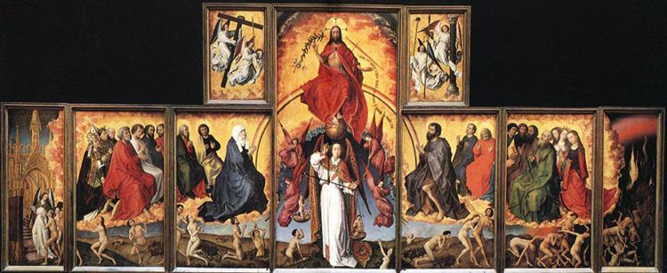 The Last Judgement, 1445 - 1450 - Rogier van der Weyden