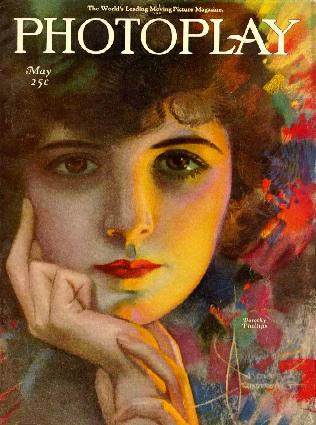 Cover of May 1921 issue of Photoplay, 1921 - Рольф Армстронг