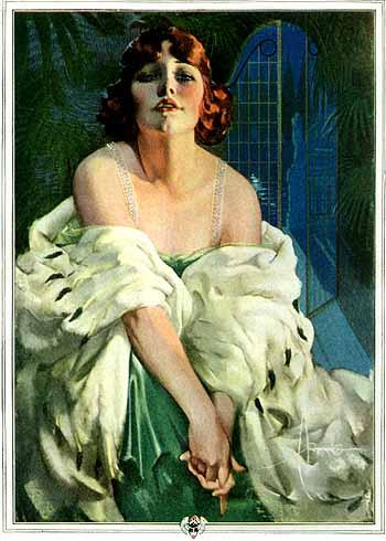 Palmolive, Beauty That Lures, 1923 - Рольф Армстронг