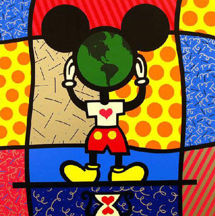Mickey's World - Romero Britto