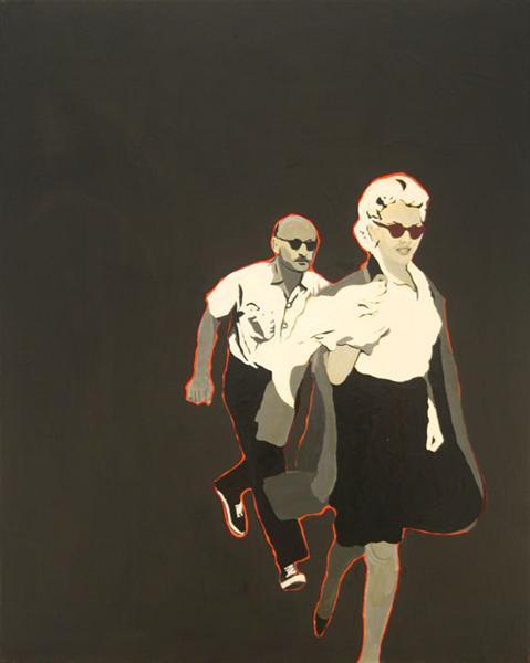 Marilyn Pursued By Death - Rosalyn Drexler