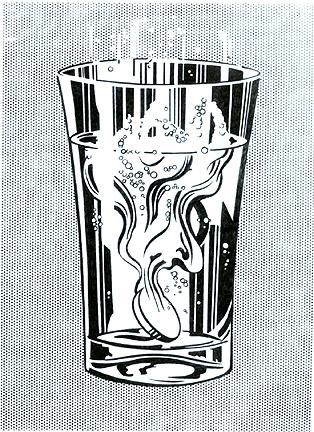 Alka Seltzer, 1966 - Roy Lichtenstein