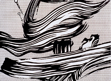 Brushstrokes, 1966 - 1968 - Roy Lichtenstein