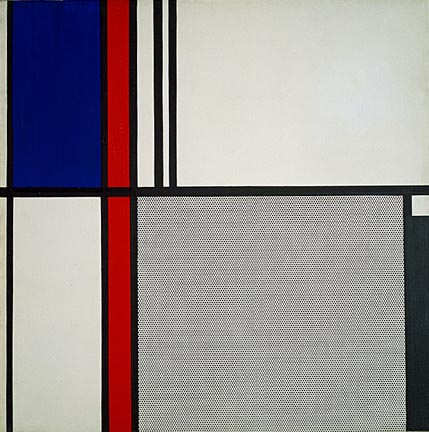Nonobjective II, 1964 - Roy Lichtenstein