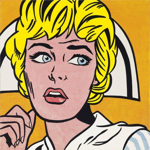 Nurse, 1964 - Roy Lichtenstein