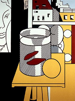 Still Life with goldfish, 1974 - Roy Lichtenstein