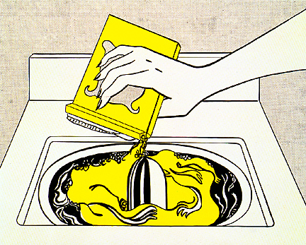 Washing machine, 1961 - Roy Lichtenstein