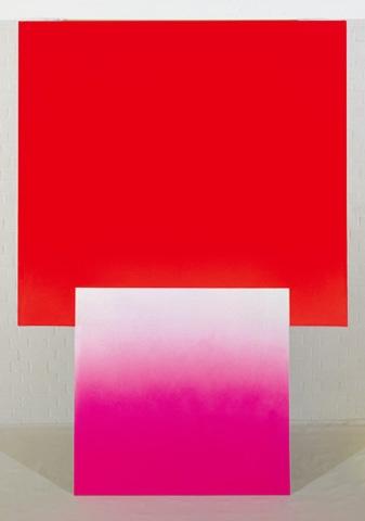 725/78 (Farbraum, Geist und Materie), 1978 - Rupprecht Geiger