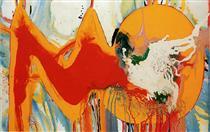 Red and Yellow - Sadamasa Motonaga