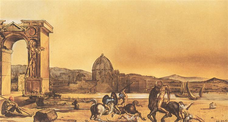 Autumn Sonata, 1945 - Salvador Dali