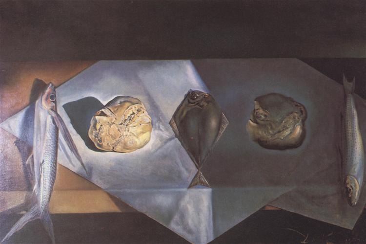 Eucharistic Still Life, 1952 - Salvador Dali