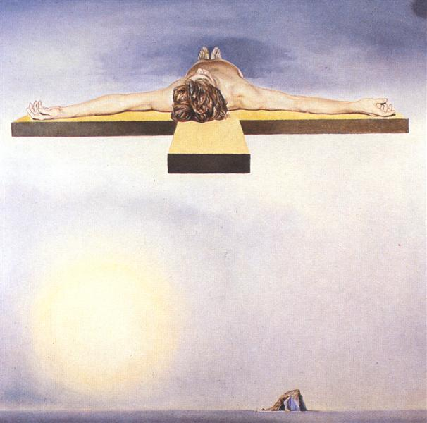 Gala's Christ, 1978 - Salvador Dalí