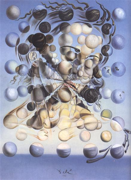 Galatea of the Spheres, 1952 - Salvador Dali