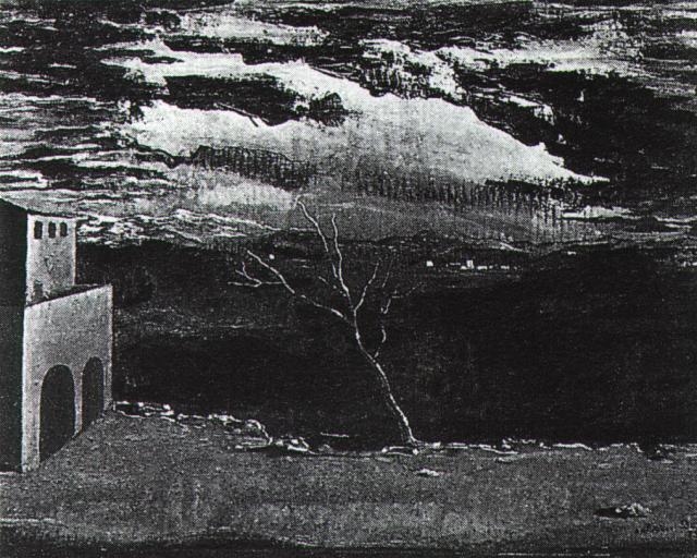 Landscape Near Ampurdan, 1925 - Salvador Dali - WikiArt.org