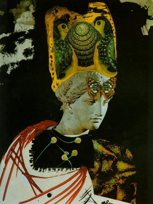 Mad Mad Mad Minerva - Illustration for 'Memories of Surrealism', 1968