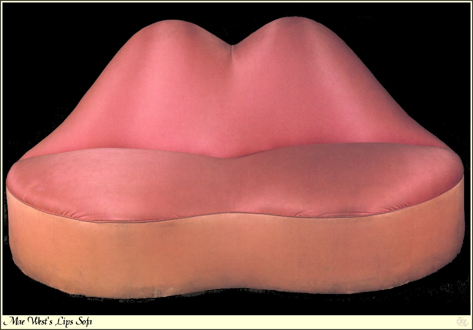 Mae West Lips Sofa 1936 1937 Salvador Dali WikiArtorg