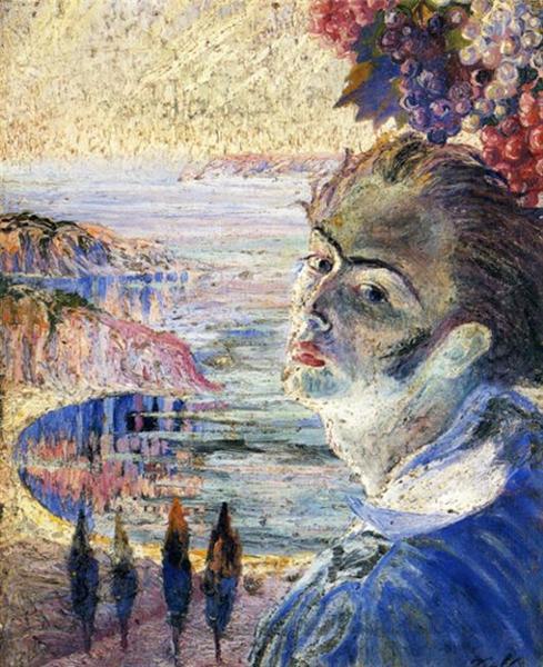 Self Portrait, c.1921 - Salvador Dali