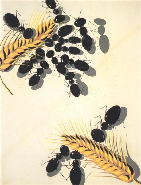 The Ants, 1936 - 1937 - Salvador Dali