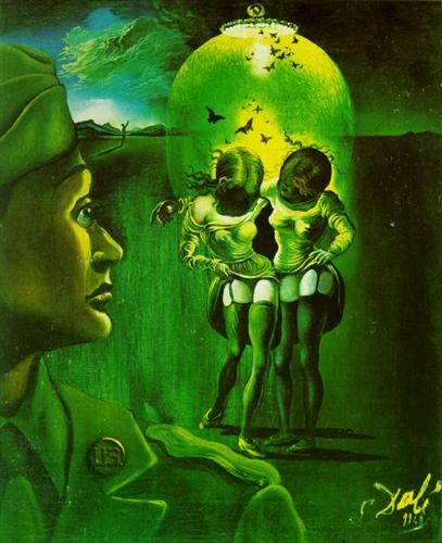 Untitled - for the campaign against venereal disease - Salvador Dali