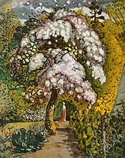 garten in shoreham 1830 samuel palmer. Black Bedroom Furniture Sets. Home Design Ideas