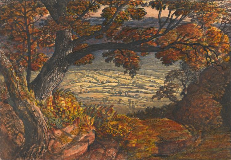 The Weald of Kent, 1834 - Samuel Palmer