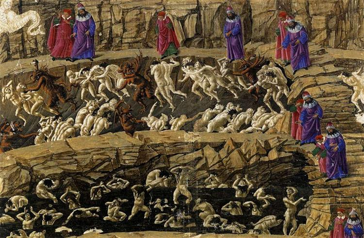 Inferno, Canto XVIII - Botticelli Sandro