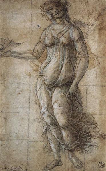 Pallas, c.1490 - Sandro Botticelli