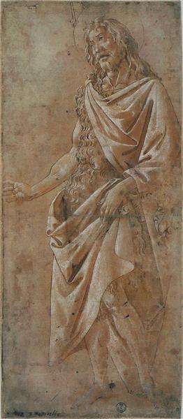 Saint Jean Baptiste, 1485 - 1490 - Sandro Botticelli