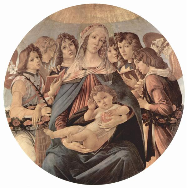 The Virgin Adoring the Child, 1490 - Sandro Botticelli