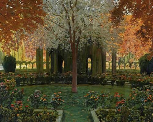 Jardines de aranjuez santiago rusinol for Jardines de aranjuez horario