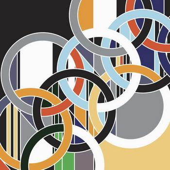 1952 [Rings], 2006 - Sarah Morris