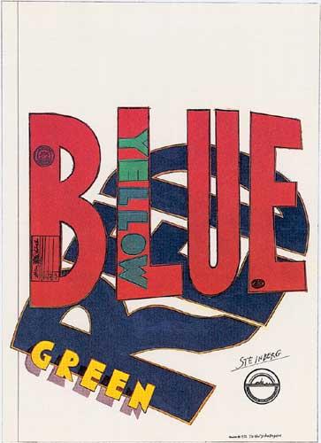 Untitled, 1971 - Saul Steinberg