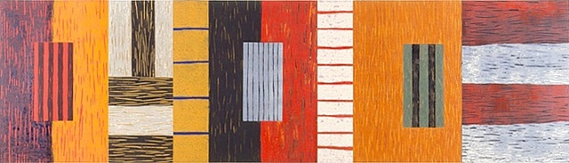Backs Fronts Windows, 1993 - Sean Scully