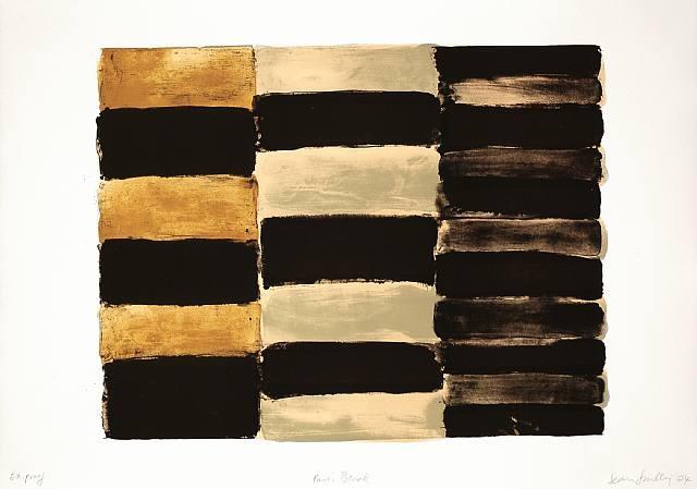 Paris Black, 2004 - Sean Scully